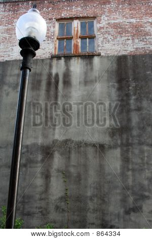 Tall Ad Wall