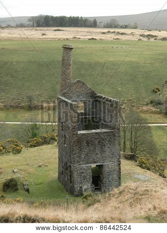 Wheal Betsy Silver Lead Mine Rural Landscape