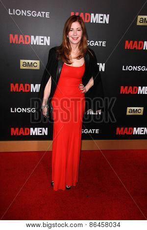 LOS ANGELES - MAR 25:  Dana Delany at the Mad Men Black & Red Gala at the Dorthy Chandler Pavillion on March 25, 2015 in Los Angeles, CA