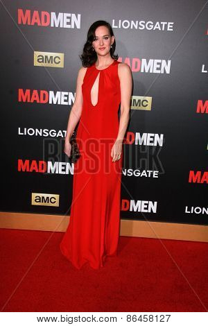 LOS ANGELES - MAR 25:  Jess Weixler at the Mad Men Black & Red Gala at the Dorthy Chandler Pavillion on March 25, 2015 in Los Angeles, CA