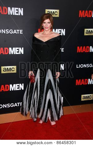 LOS ANGELES - MAR 25:  Melinda McGraw at the Mad Men Black & Red Gala at the Dorthy Chandler Pavillion on March 25, 2015 in Los Angeles, CA