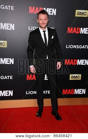 LOS ANGELES - MAR 25:  Chris Hardwick at the Mad Men Black & Red Gala at the Dorthy Chandler Pavillion on March 25, 2015 in Los Angeles, CA