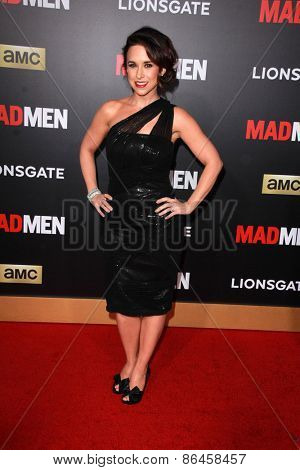 LOS ANGELES - MAR 25:  Lacey Chabert at the Mad Men Black & Red Gala at the Dorthy Chandler Pavillion on March 25, 2015 in Los Angeles, CA
