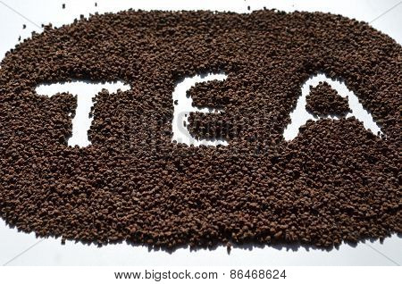 Granulated tea