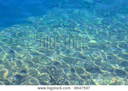 clear water reflections