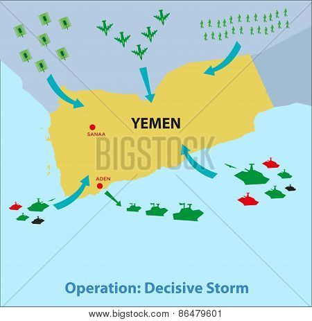 Yemen Rescue and Military Coalition operation
