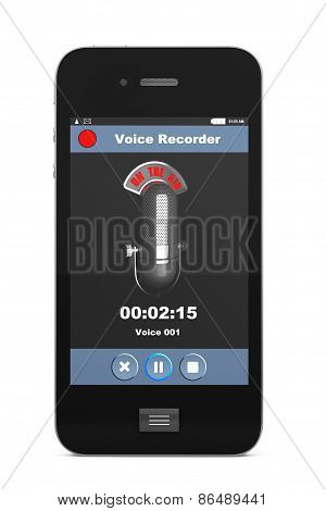 Mobile Phone As Voice Recorder