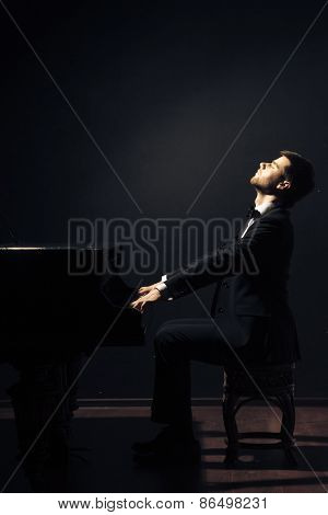 Piano classical music musician player
