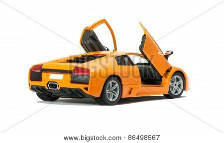 Collectible Toy Model Lamborghini With Open Doors