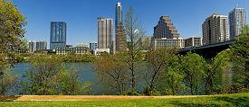 Austin Texas City Skyline Panorama