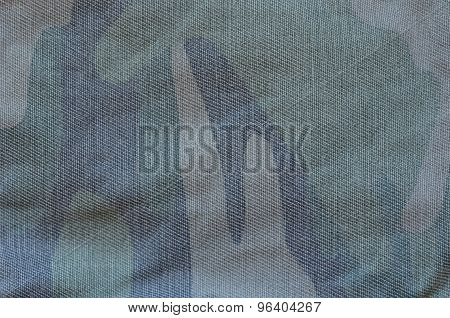 Camouflage cloth pattern