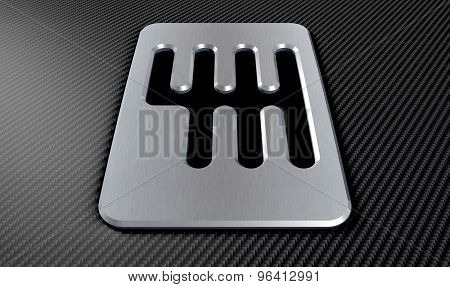 Gear Stick Shift Plate