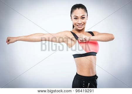 Female Fitness Instructor