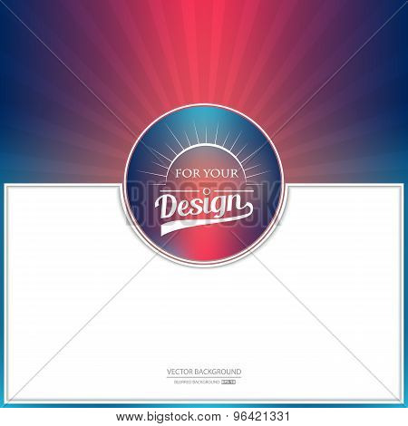 Vector background for web, art page design, plan card, page, style print, color banner, text list, p