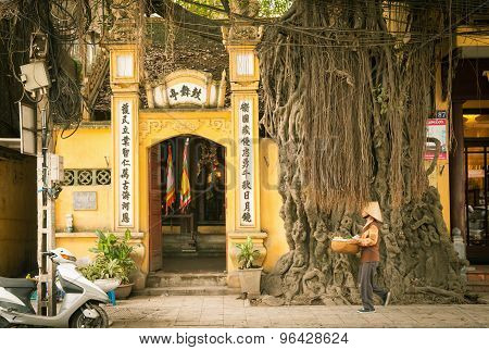 Old Quarter streets, Hanoi