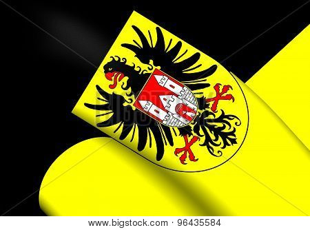Flag Of Quedlinburg City, Germany.