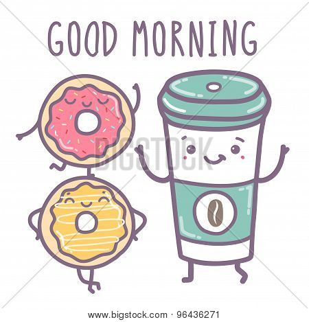 Vector Illustration - Good Morning.