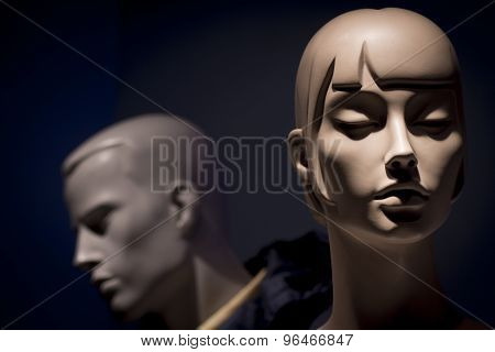 Mannequins Men And Woman