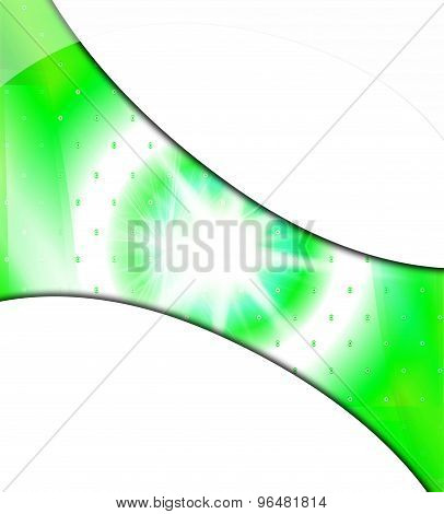 Burst light green white background with place for text
