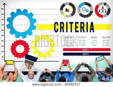 Criteria Information Regulation Rule Instructions Concept