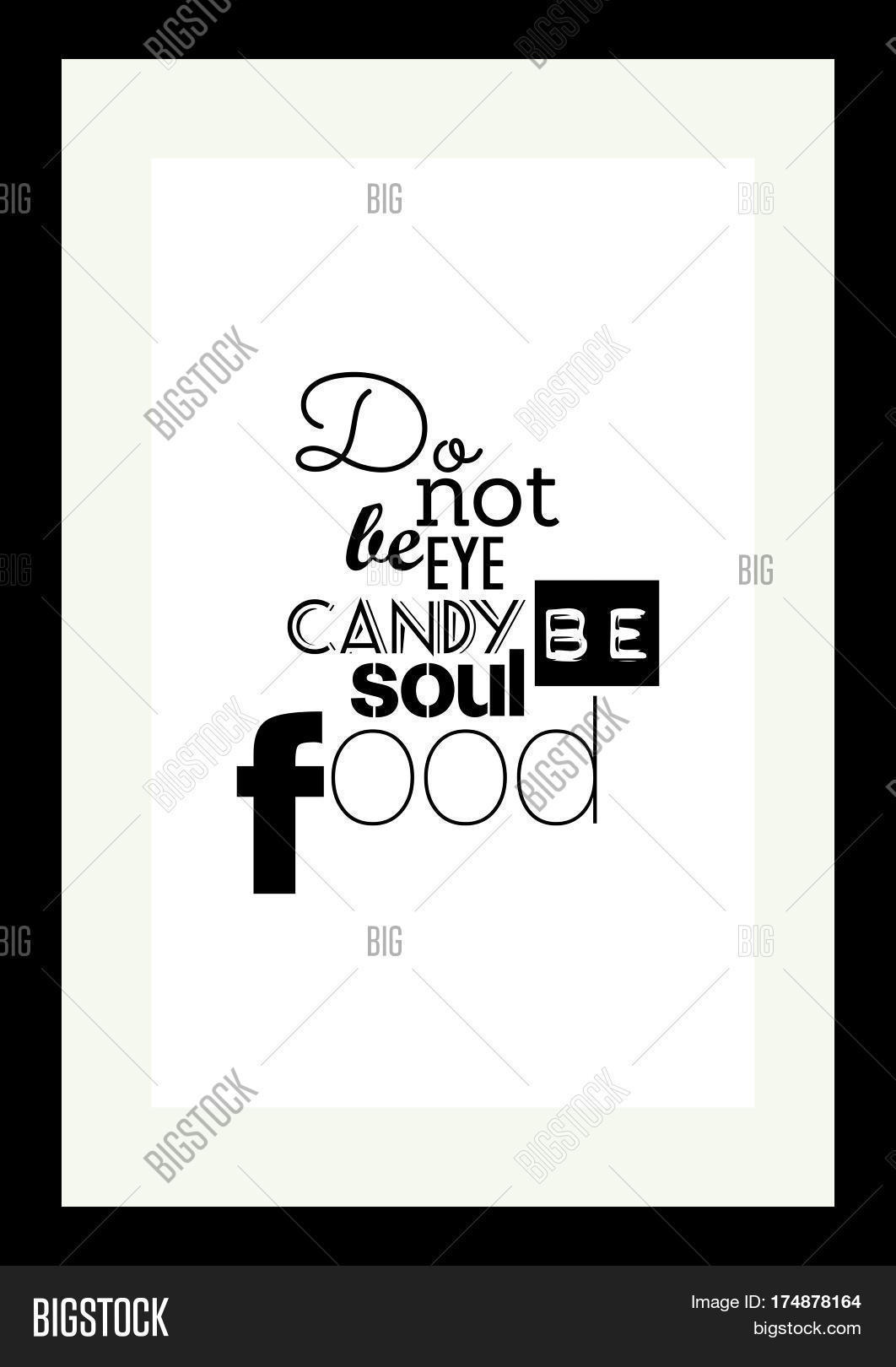 Food Quote Vector Photo Free Trial Bigstock