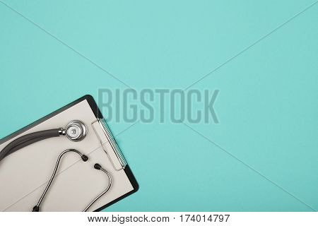 Medical Tablet Snd Stethoscope