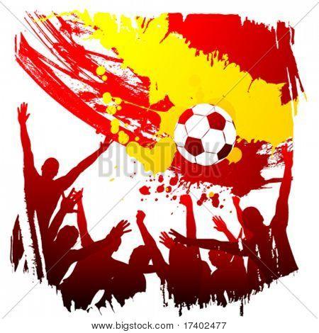 vector worldcup  spain
