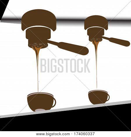 espresso shot , coffee icon set