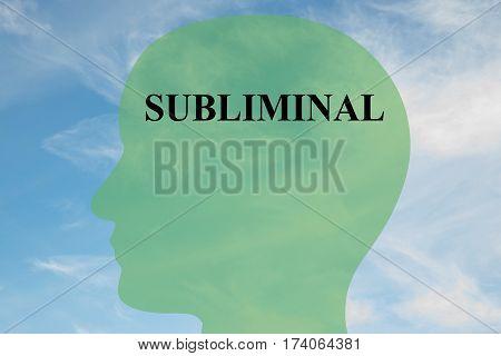 Subliminal - Cognitive Concept