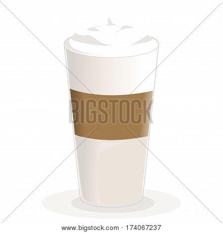 latte macchiato coffee icon ,coffee icon set