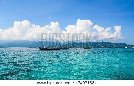 Seascape In Bali, Indonesia