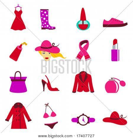 fashion woman icons