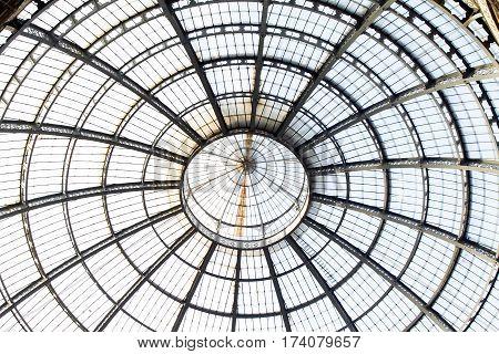 galleria Vittorio Emmanuelle   Milano  cupola  dome roof