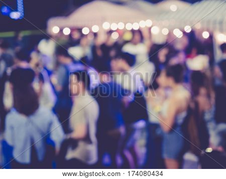 Festival Event Party outdoor Blurred People Social