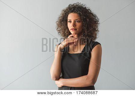 Beautiful Afro American Girl