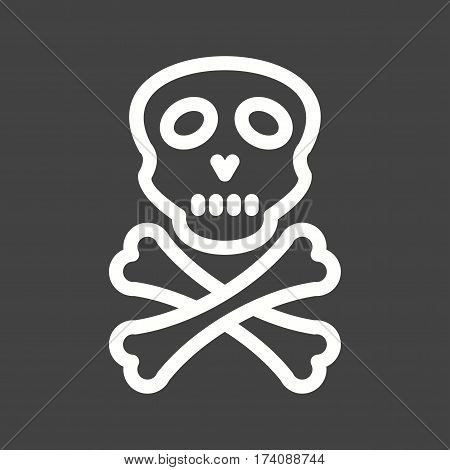 Danger, sign, safety icon vector image. Can also be used for disasters. Suitable for mobile apps, web apps and print media.