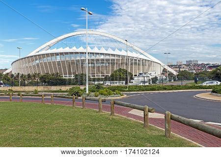 Moses Mabhida Stadium In Durban South Africa