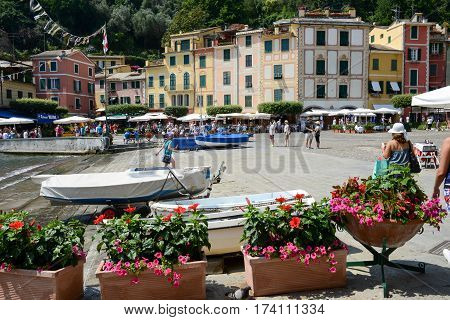The Beautiful Village Of Portofino