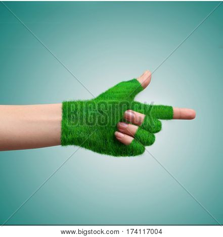 Go Green Concept