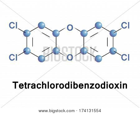 Tetrachlorodibenzo p dioxin is a polychlorinated dibenzo p dioxin with the chemical formula C12H4Cl4O2, became known as a contaminant in Agent Orange, a herbicide used in the Vietnam War.
