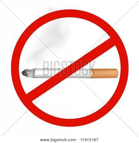 No Smoking. Vector.