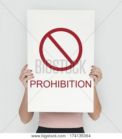 Prohibition Prevent Caution Terminate Warning Risk