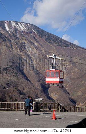 Mountain Scene In Nikko, Japan