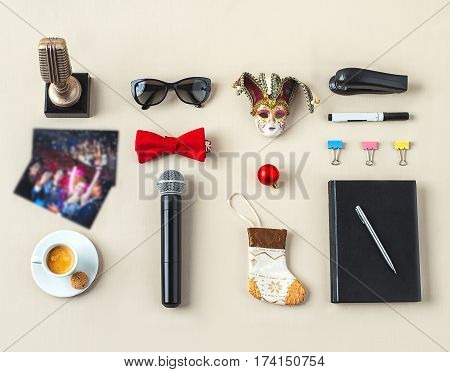 Branding Stationery Mockup Scene, Blank Objects For Placing Your Design. Hand Made Items For Wedding
