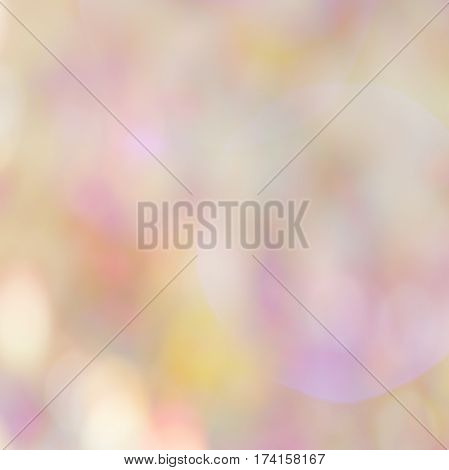 Abstract colorful bokeh background of defocused twinkling lights