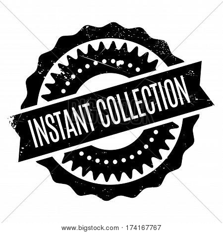 Instant Collection rubber stamp. Grunge design with dust scratches. Effects can be easily removed for a clean, crisp look. Color is easily changed.