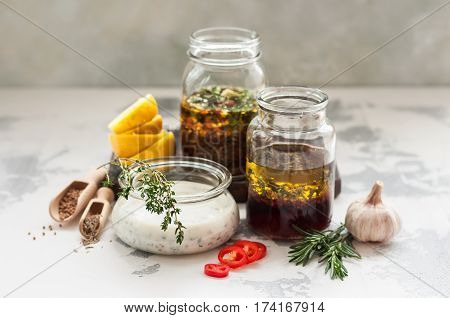 Assorted Meat Marinades