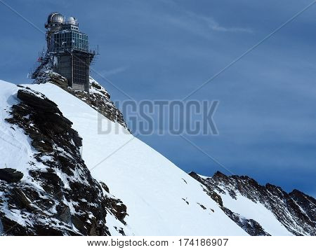 Sphinx Observatory, Jungfrau Plateau, Top of Europe, Swiss Alps, Switzerland