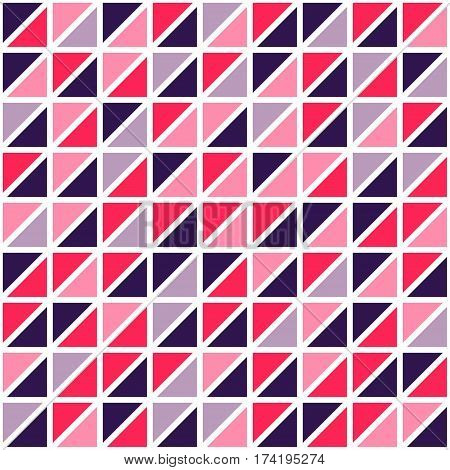 Abstract creative triangles pattern background. Vector illustration.