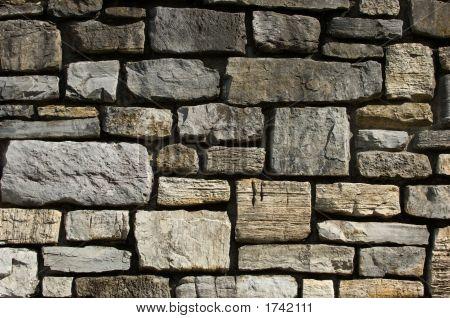 Cut Stone Wall Detail